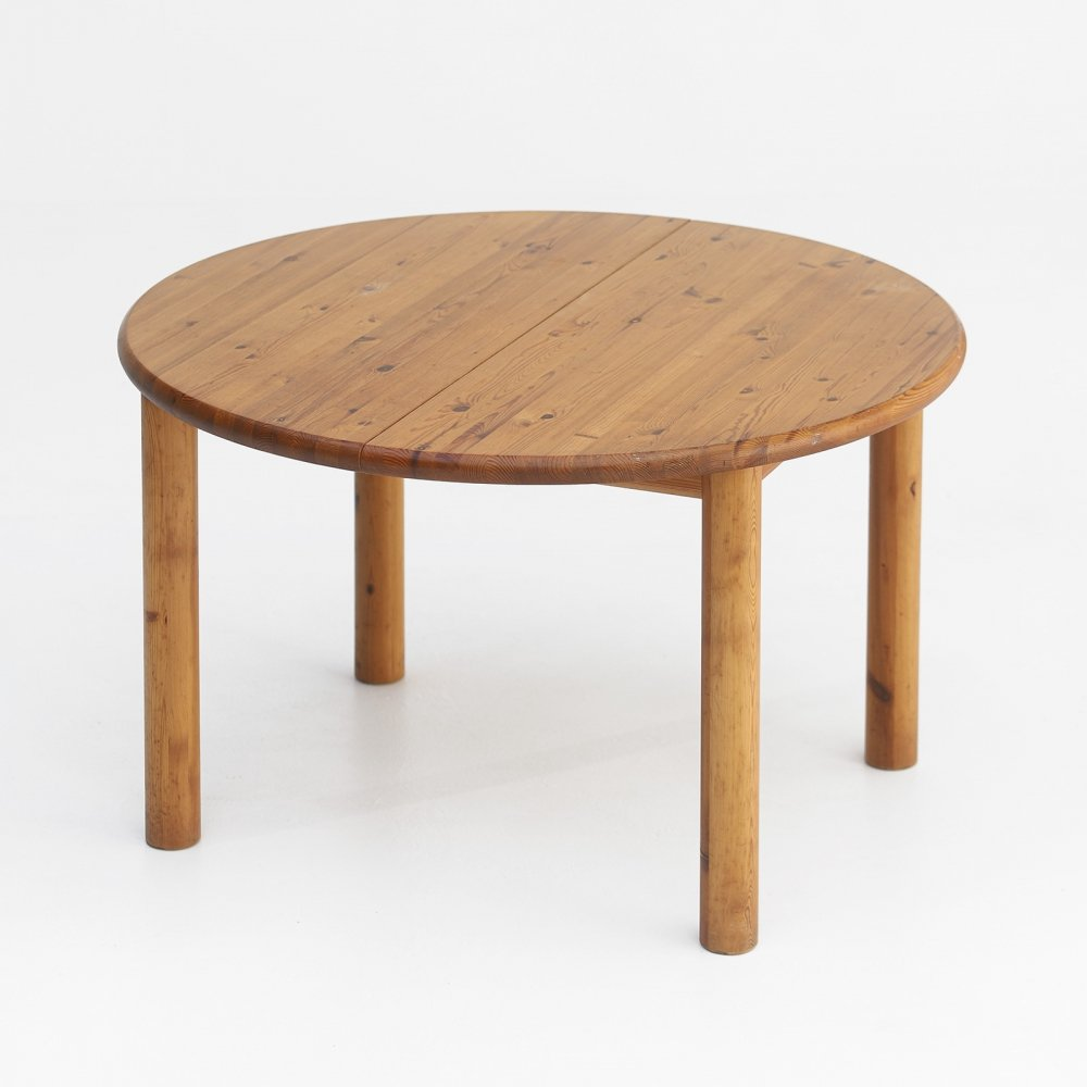Round dining table designed by Rainer Daumiller, 1970s