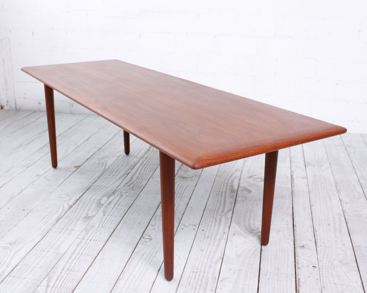 Surfboard Coffee table by Poul Volther for Frem Røjle, 1960s