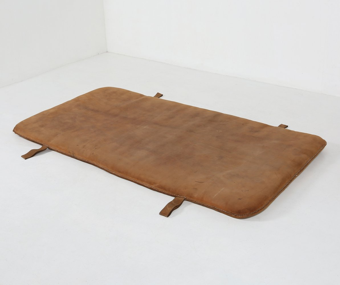 Leather Gym mat, 1930s