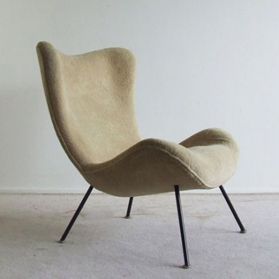 lounge chair from the sixties by fritz neth for correcta 4978. Black Bedroom Furniture Sets. Home Design Ideas