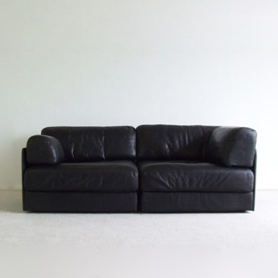 ds 76 sofa by de sede 1970s 5987. Black Bedroom Furniture Sets. Home Design Ideas