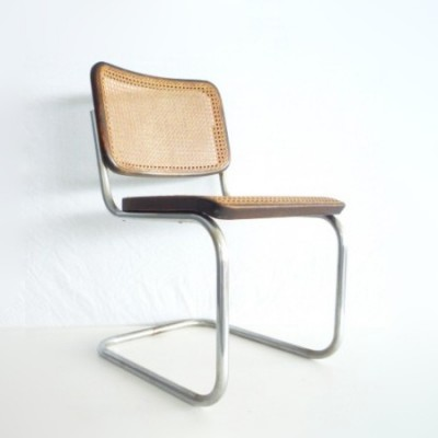 s32 dinner chair from the forties by marcel breuer for thonet 6134. Black Bedroom Furniture Sets. Home Design Ideas