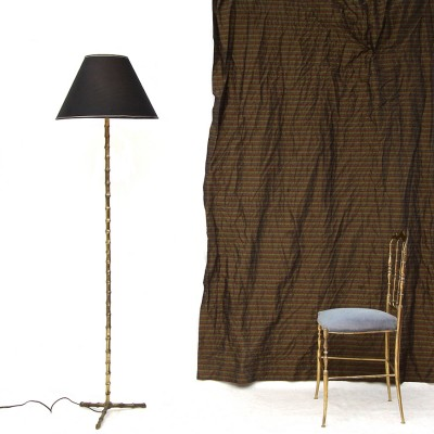 Faux bambou floor lamp by maison bagu s 11345 for Faux bambou