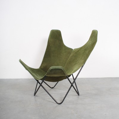 butterfly lounge chair by jorge ferrari hardoy for knoll 1960s 12483. Black Bedroom Furniture Sets. Home Design Ideas