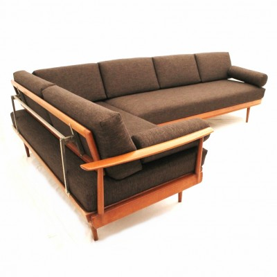 knoll antimott sofa by wilhelm knoll for knoll international 1950s 14730. Black Bedroom Furniture Sets. Home Design Ideas