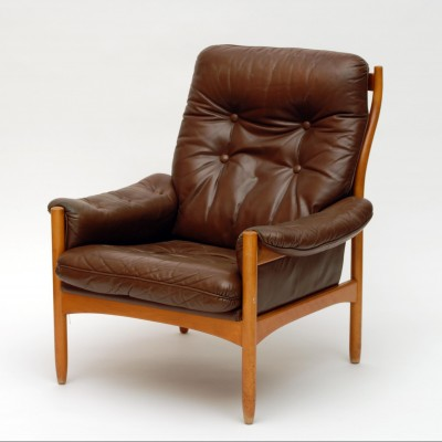 Lounge chair by gote mobler for g mobel 1960s 17499 for Designer lounge mobel