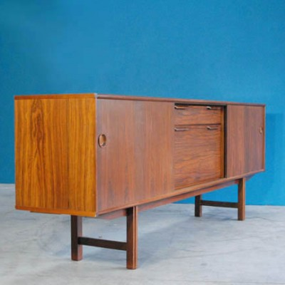 musterring sideboard 1960s 23301. Black Bedroom Furniture Sets. Home Design Ideas