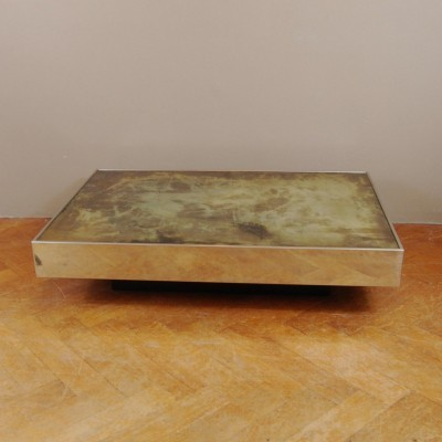 Coffee table from the seventies by willy rizzo for cidue for Table willy rizzo