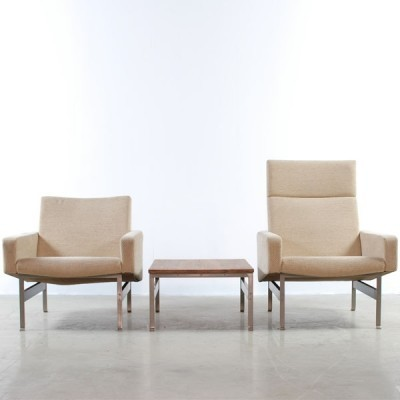 no 740 lounge chair by joseph andr motte for steiner meubles 1950s 24633. Black Bedroom Furniture Sets. Home Design Ideas