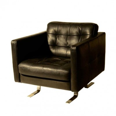 set of 2 b483 lounge chairs from the nineties by unknown. Black Bedroom Furniture Sets. Home Design Ideas
