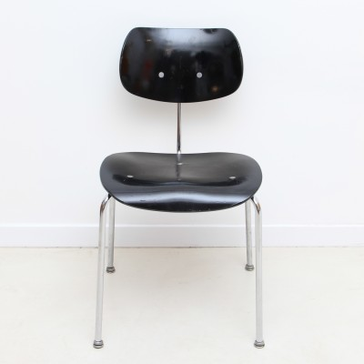 4 x se68 dinner chair by egon eiermann for wilde und spieth 1950s 27375. Black Bedroom Furniture Sets. Home Design Ideas