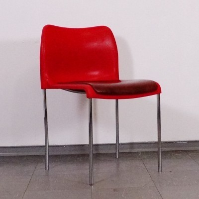stacking dinner chair from the seventies by unknown. Black Bedroom Furniture Sets. Home Design Ideas