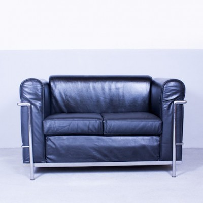 Lc2 sofa by le corbusier for cassina 1950s 32306 Le corbusier lc2 sofa