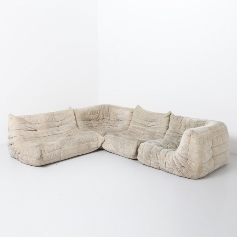 Togo Sofa From The Sixties By Michel Ducaroy For Ligne