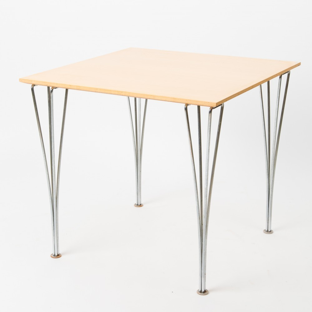 8 X Spanpoot Coffee Table By Arne Jacobsen Bruno Mathsson For Fritz Hansen 1960s 34425