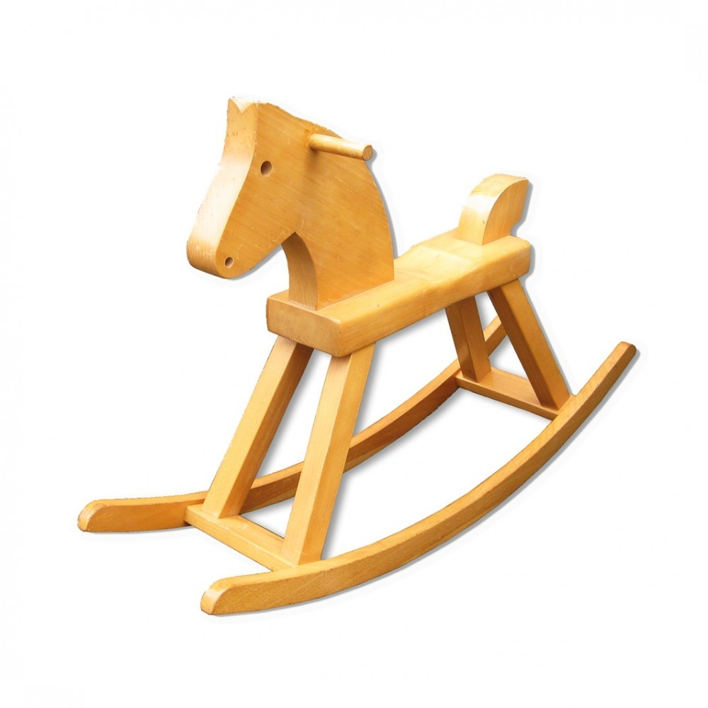 Rocking Horse Children Furniture from the thirties by Kay
