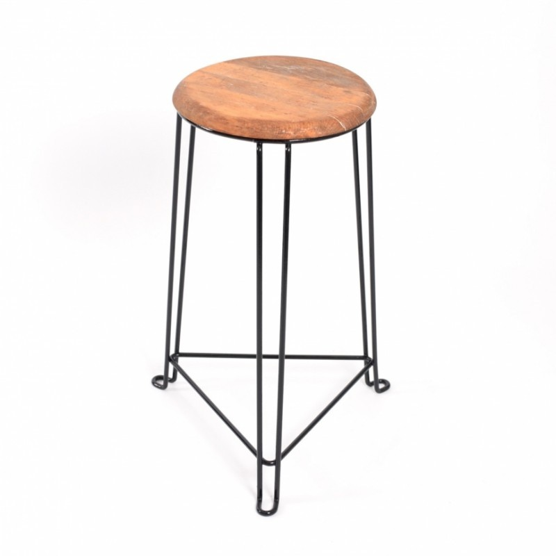 tabouret 60cm stool by jan van der togt for tomado 1930s. Black Bedroom Furniture Sets. Home Design Ideas
