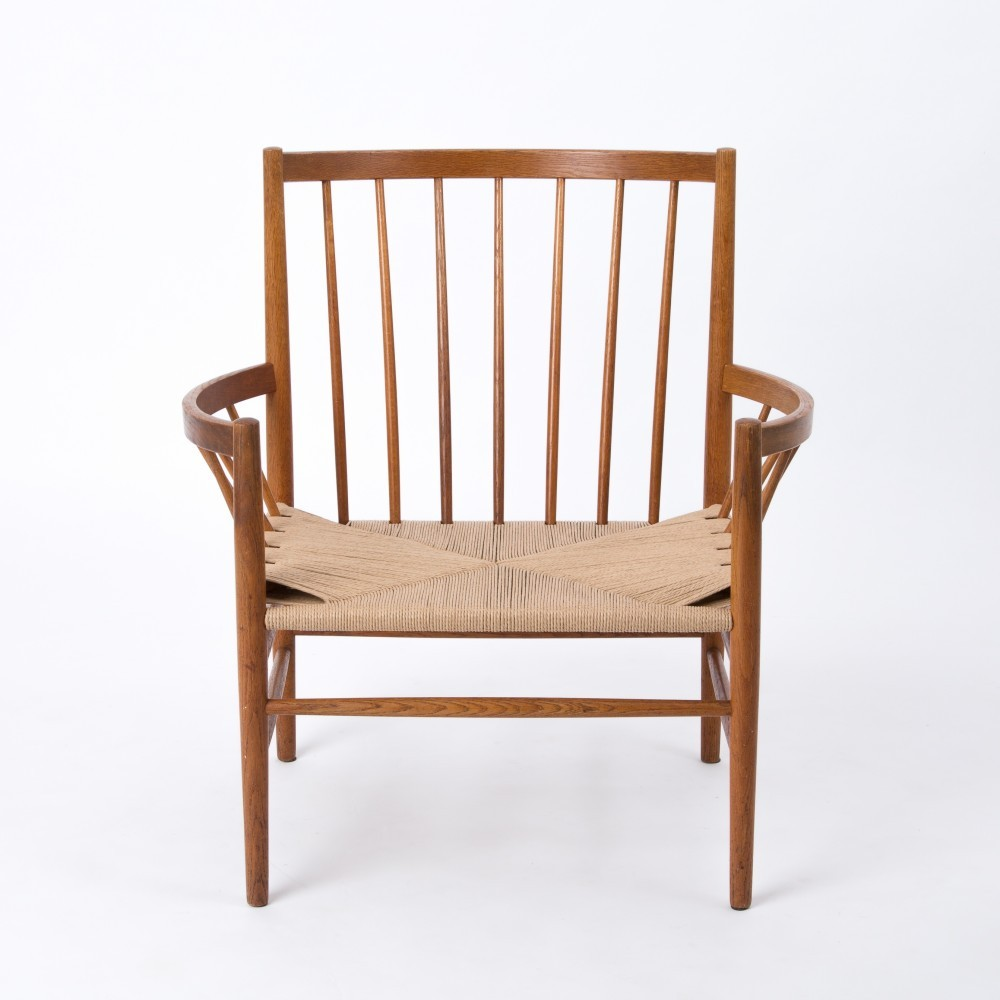 Circle Lounge Chair from the sixties by Jørgen Baekmark for FDB Møbler