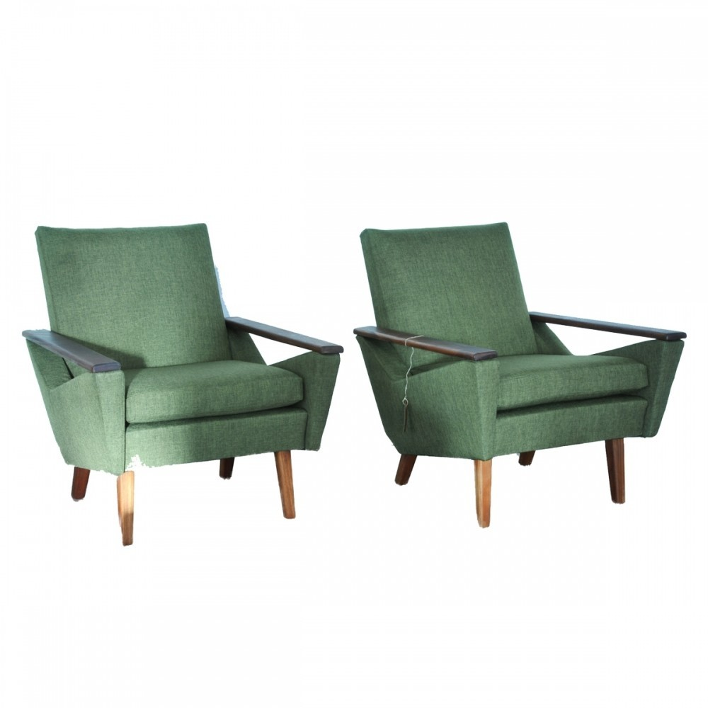 Pair of vintage lounge chairs 1960s 38802 - Vintage lyon lounge ...