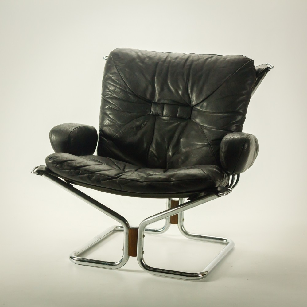 Wing Lounge Chair By Harald Relling For Westnofa 1970s