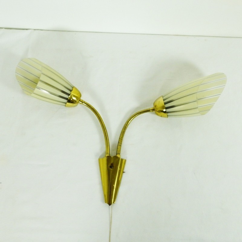Wall Lamps Vintage : Vintage wall lamp, 1950s #40398