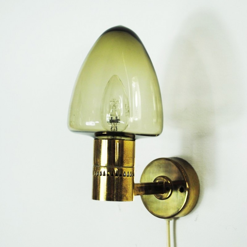 Set of 2 wall lamps from the sixties by Hans Agne Jakobsson for Markaryd #41765