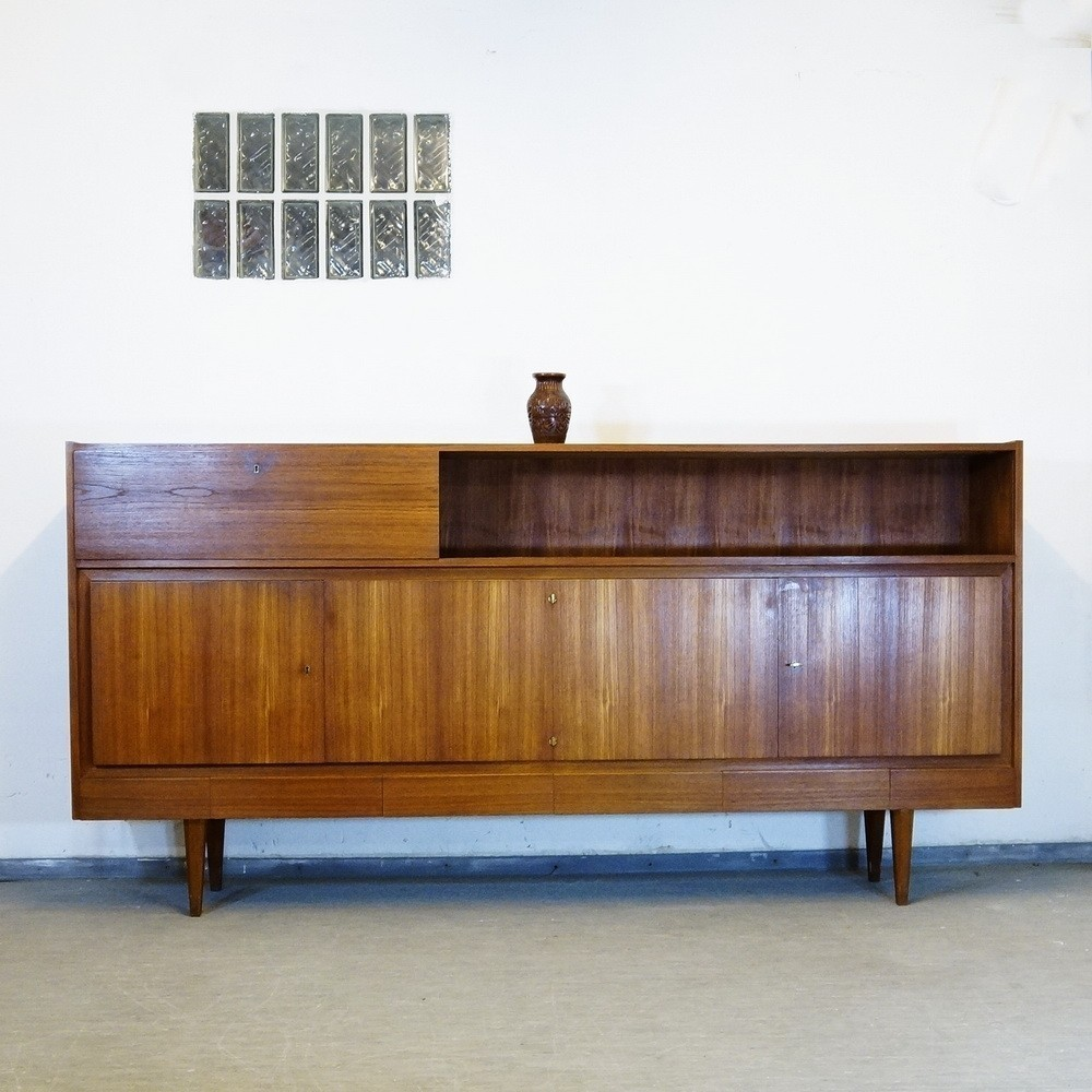 11 100 sideboard by musterring 1960s 42296. Black Bedroom Furniture Sets. Home Design Ideas