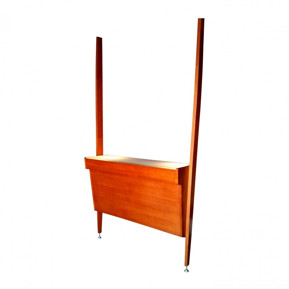 Bar counter wall unit by poul cadovius for roche bobois 1960s 43489 - Wall bar counter ...