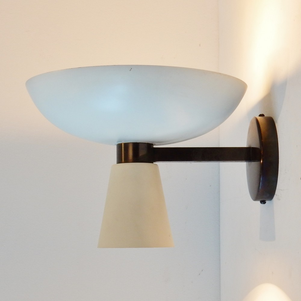 Wall Lamps Design : Wall Lamp from the fifties by Unknown Designer for Stilnovo #44163
