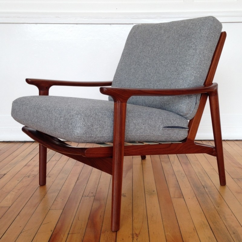 New Yorker Lounge Chair By Guy Rogers 1960s 44321