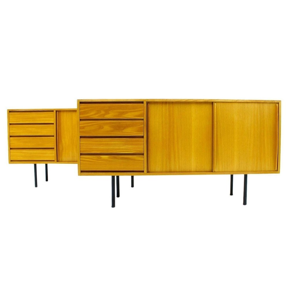2 X Sideboard By Ollie Borg For Asko 1950s 44398