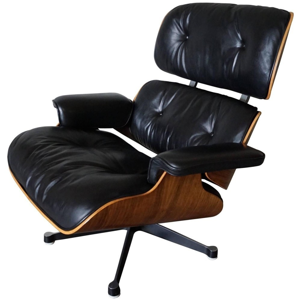 Model 670 lounge chair by charles ray eames for vitra for Charles eames lounge chair nachbildung