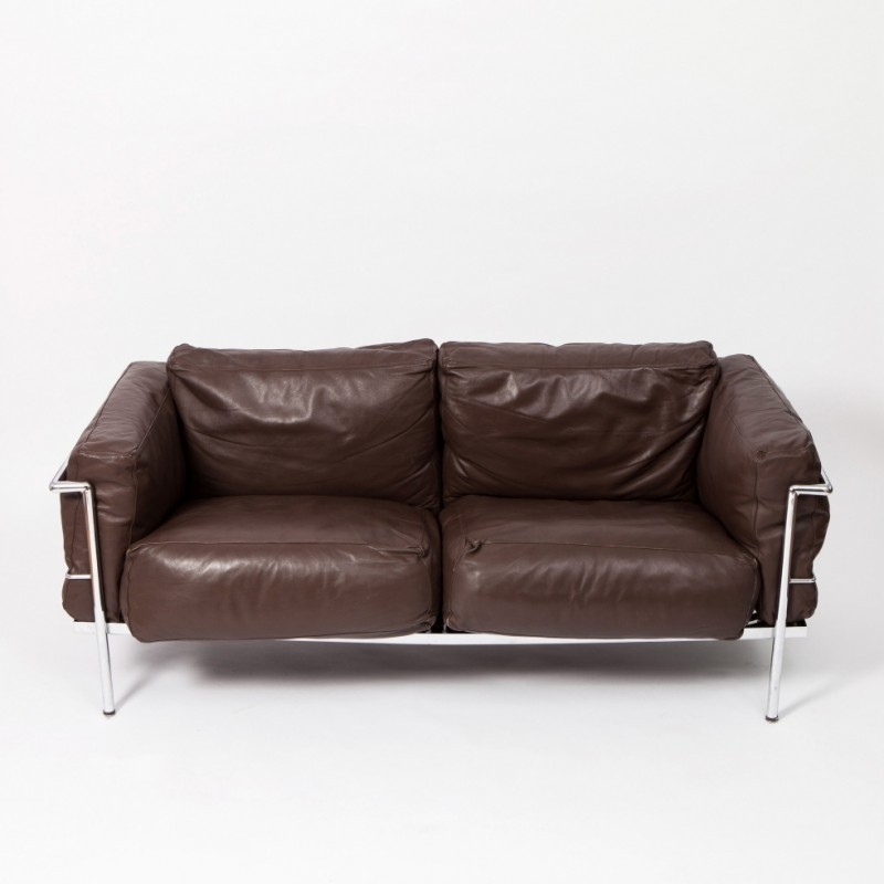 Lc2 grand confort sofa by le corbusier 1980s 45449 for Sofas gran confort