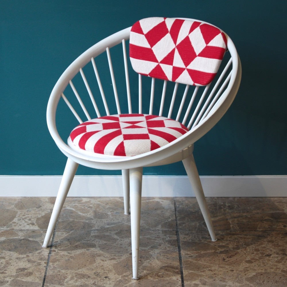 Circular Chair Lounge Chair from the sixties by Yngve Ekström for Swedese