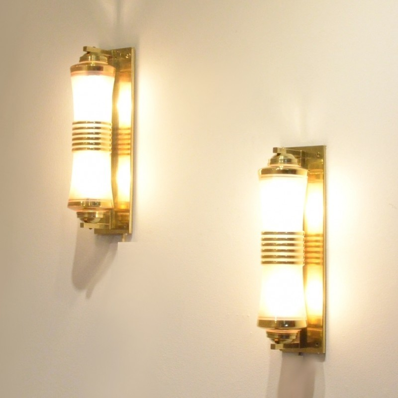 Wall Lamps Vintage : Pair of vintage wall lamps, 1930s #50324