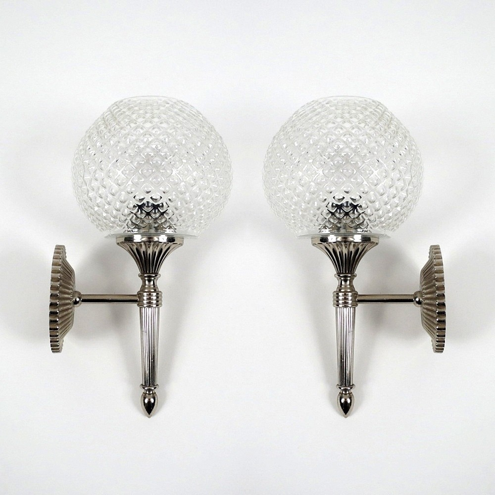Wall Lamps Vintage : Pair of vintage wall lamps, 1970s #50478