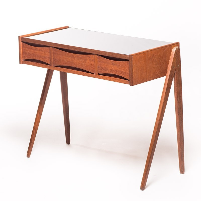 Chest of drawers side table 1950s 50949 for Large side table with drawers