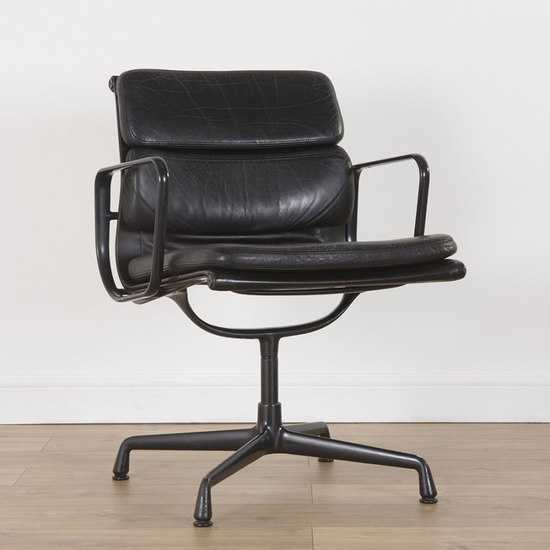 soft pad alu group office chair by charles ray eames for vitra 1990s 51184. Black Bedroom Furniture Sets. Home Design Ideas