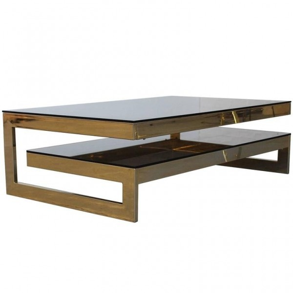 Roche bobois coffee table 1970s 51491 for Table ardoise roche bobois