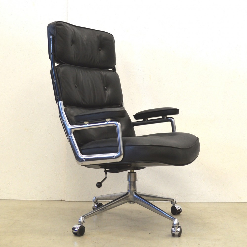 Lobby office chair by charles ray eames for herman miller 1960s 52647 - Herman miller chair eames ...