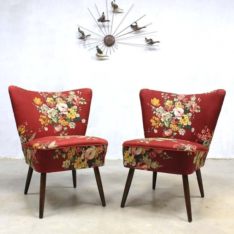 Pair of vintage lounge chairs 1950s 53254 - Vintage lyon lounge ...