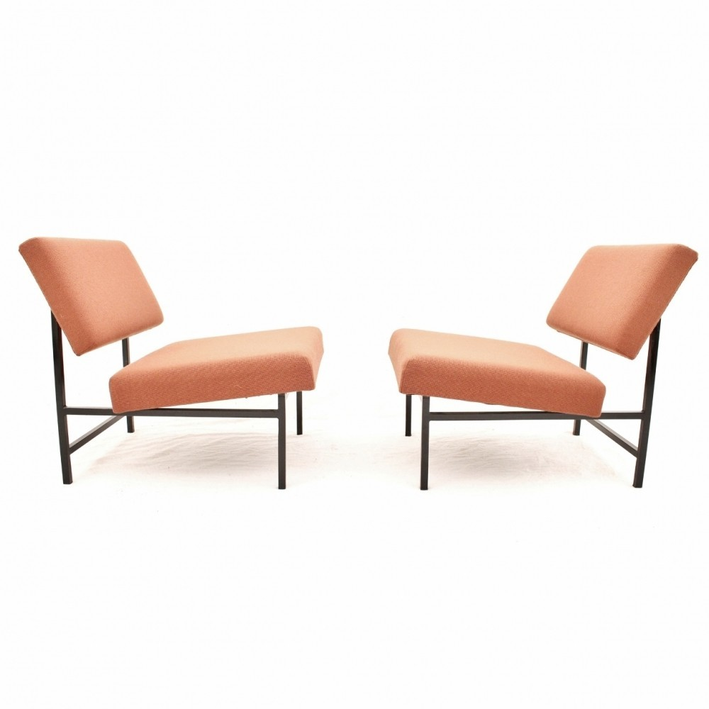 Pair of vintage lounge chairs 1950s 53592 - Vintage lyon lounge ...