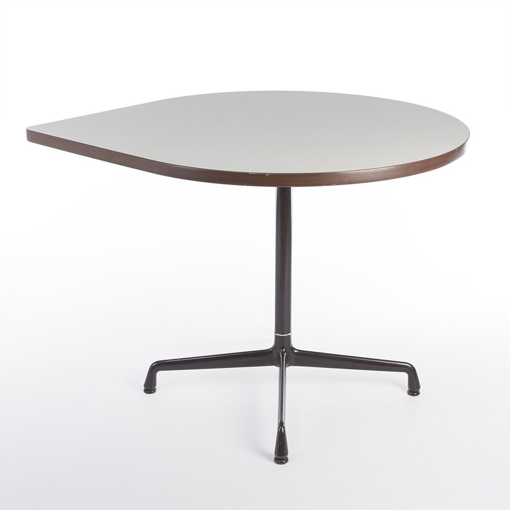 Contract Tear Drop Side Table By Geoff Hollington U0026 Charles U0026 Ray Eames For Herman  Miller, 1970s