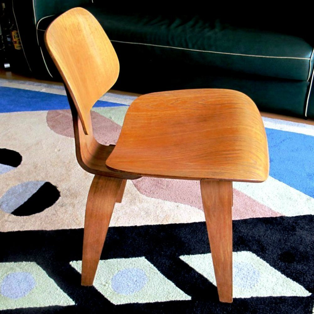 Super Dcw Dining Chair By Charles Ray Eames For Herman Miller Pabps2019 Chair Design Images Pabps2019Com