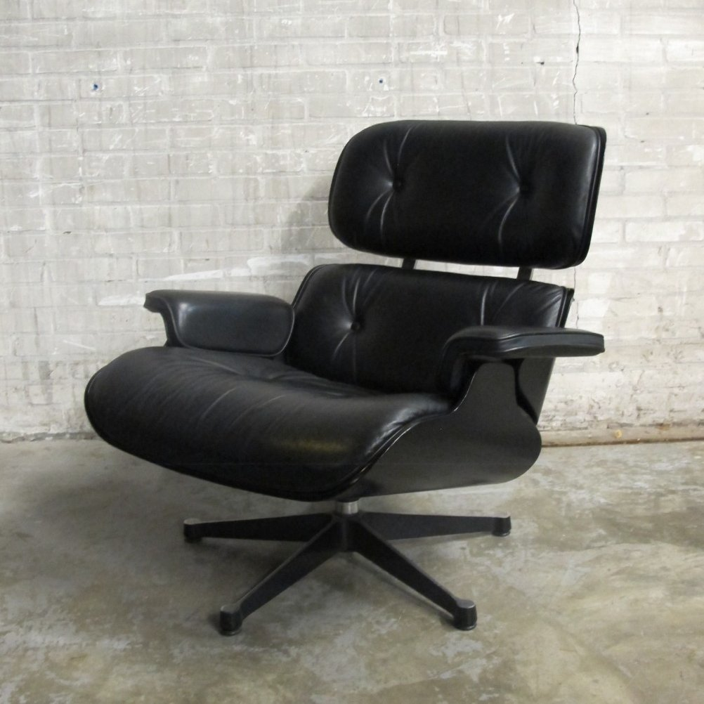 2 X Lounge Chair By Charles U0026 Ray Eames For Vitra, 1990s
