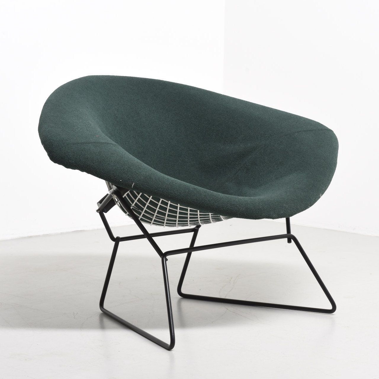 Large Diamond Lounge Chair By Harry Bertoia For Knoll International, 1950s