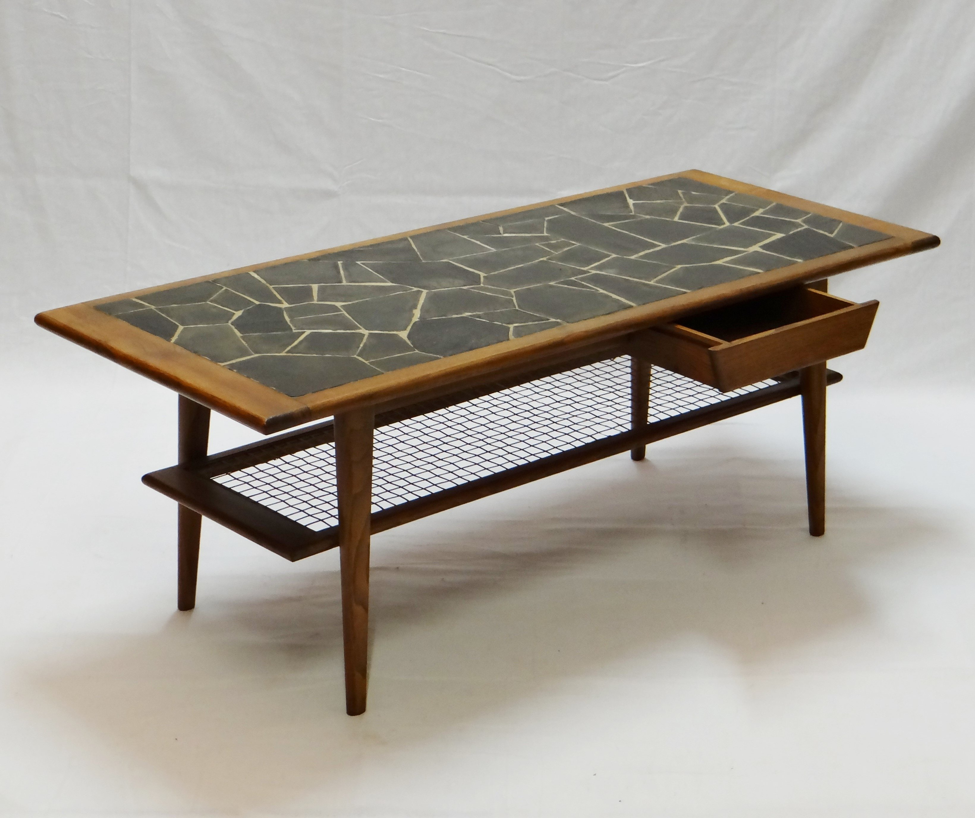 Vintage coffee table 1960s 56922 for Vintage coffee table