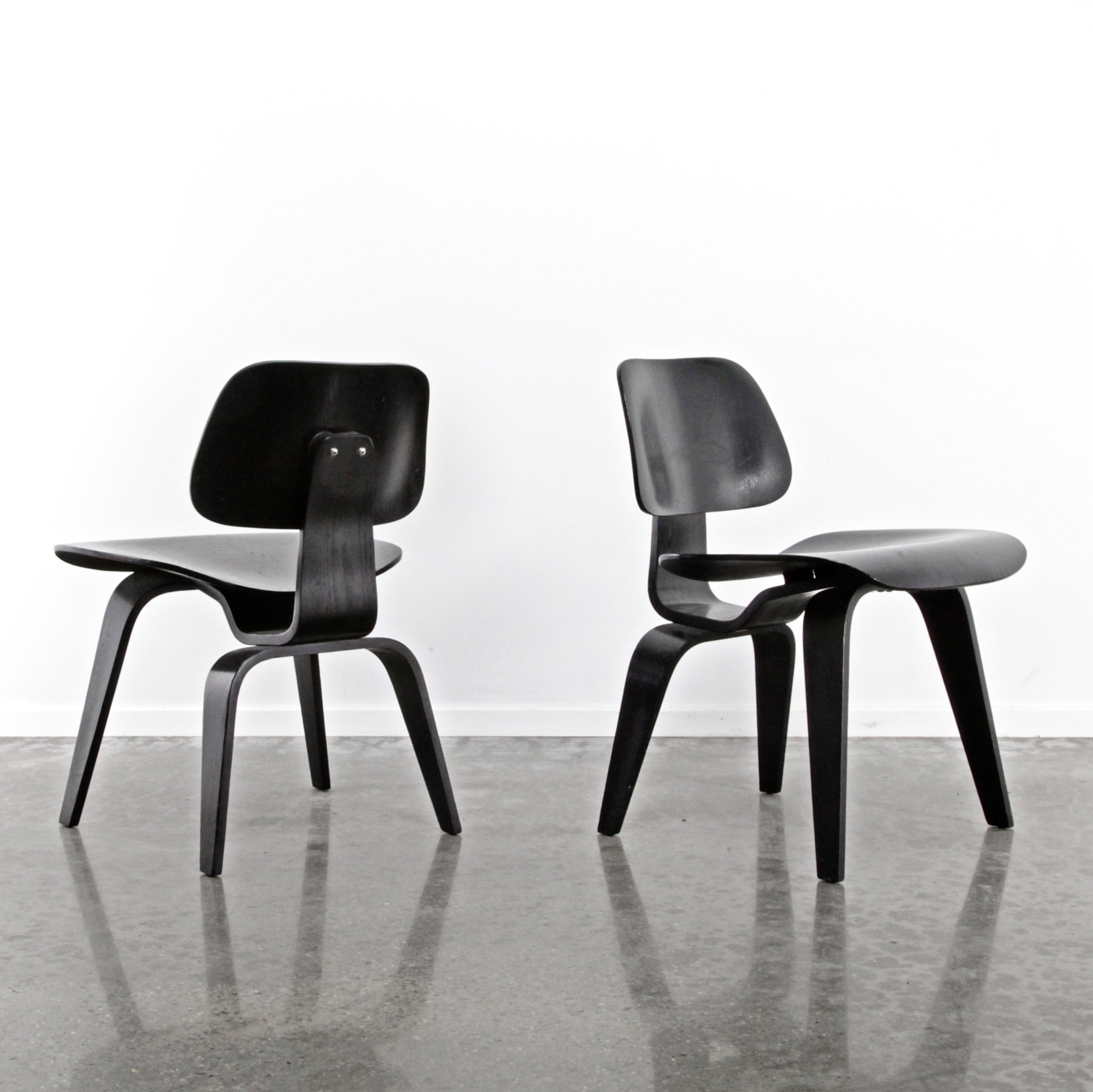 Miraculous Pair Of Dcw Dining Chairs By Charles Ray Eames For Herman Pdpeps Interior Chair Design Pdpepsorg