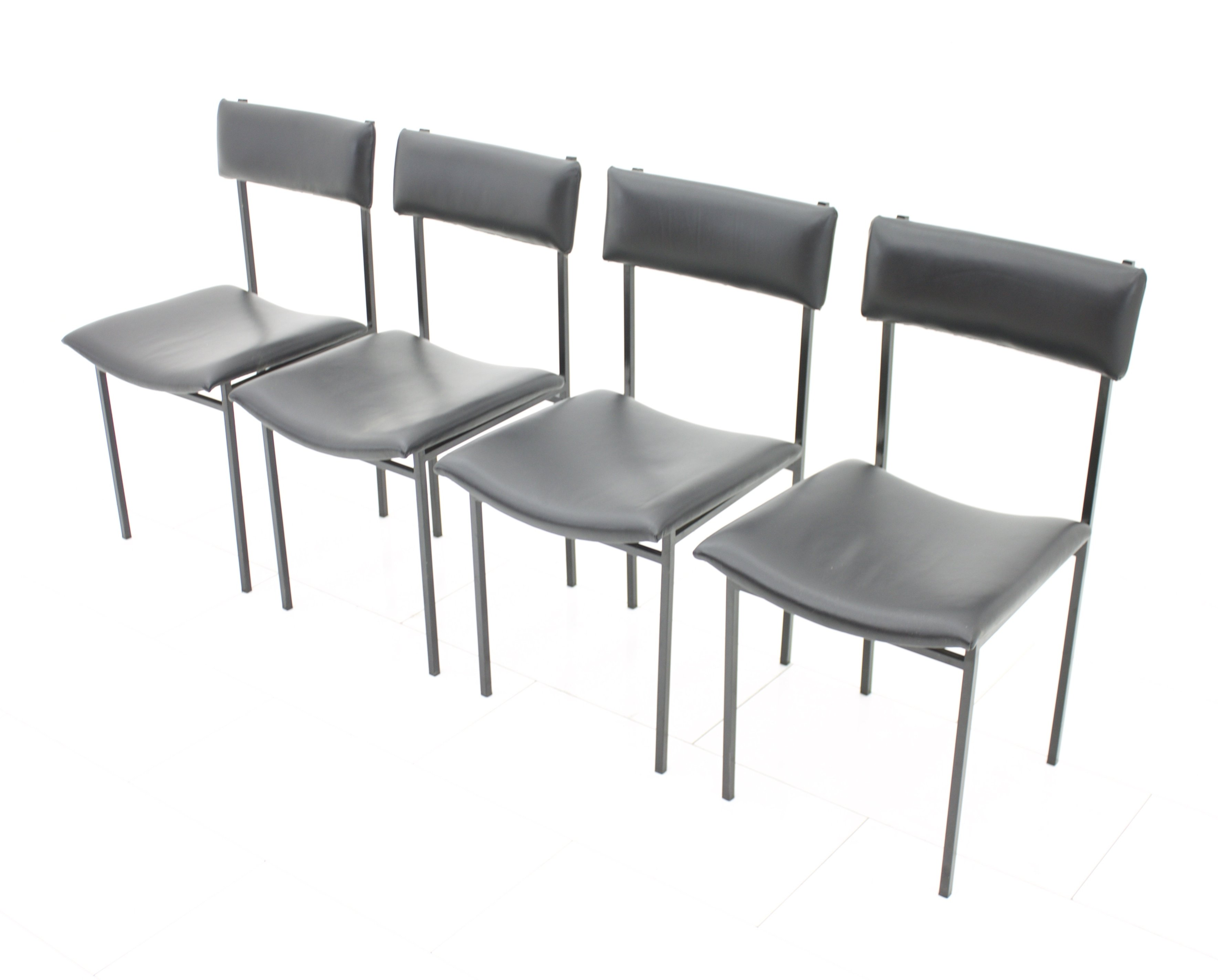 Set Of 4 Dining Room Chairs 1960s 58040