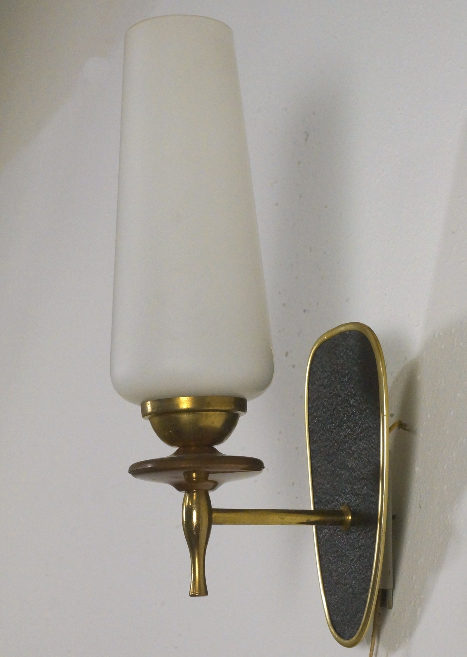 Wall Lamps Vintage : Pair of vintage wall lamps, 1950s #58385